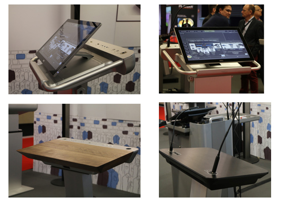 ILS lectern at ISE 2015